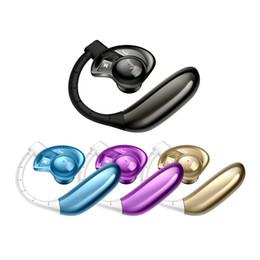 StyliSh cell phoneS online shopping - Stereo Wireless Bluetooth Headphone HI FI With Microphone Ear Hook Stylish UFO Handfree Earphone Studio Music Headset sports Headphone