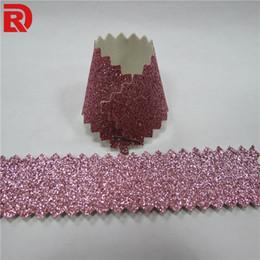 Pink Glitter Wallpaper Wholesale Canada - Glitter wallpaper fabric with classic wallpaper design