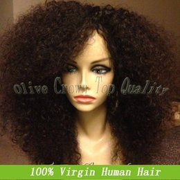 $enCountryForm.capitalKeyWord Canada - Afro Kinky Curly Human Hair Full Lace Wigs azilian Kinky Curl Glueless Lace FVirgin Brazilian Kinky Curl Glueless Lace Front Wig 150 Density