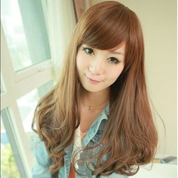 hot track girls 2020 - Hot Selling Lovely Girl Fluffy Curly Wig Pear Flower Hot Curly Wig High Temperature Wire Wig.WG15 order<$18no track c