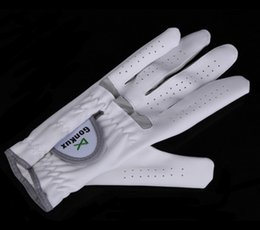 White Summer Gloves NZ - Outdoor sport Hight Quality Breathable Golf Glove Left Hand Super Fine Cloth Soft White Size 22-26 LB SS free shipping