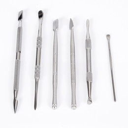 Chinese  Stainless Steel Wax Dabber Tools For Dry Herb Wax Atomizer Vaporizer Ego E Cigarette starter Kit manufacturers
