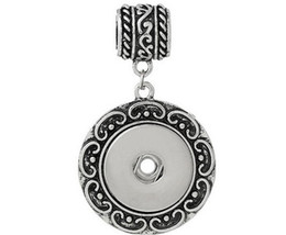 $enCountryForm.capitalKeyWord Canada - 5.5 dia The anqitue silver carved vine flowers round pendant bead pendants DIY collocation character button noosa snap button snap 5 *3cm
