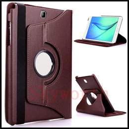 Discount samsung tab s2 leather cover - 360 Rotary leather Case for Samsung Galaxy Tab 3 4 S S2 A E 7.0 Lite 8.0 P3200 T700 T710 Cover