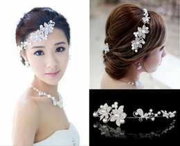 Accessoires Pour Cheveux Femmes Chine Pas Cher-Hot Sales Rhinestone Cristal Mariage Bridal Crowns Handbands Princesse Bridal Tiaras Accessoires pour cheveux Fashion China Women Hair Jewelry
