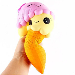 large kawaii squishy 2019 - Kawaii Squishy Large Ice Cream Squishies Slow Rising Phone Squishies Cute Squishies Jumbo Fidget Toys cheap large kawaii