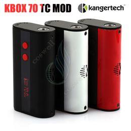 $enCountryForm.capitalKeyWord NZ - Authentic Kangertech Kbox 70 TC Mod Temperature control Kanger 70W 4000mah Built in Battery Micro USB 510 120W 200W Vapor Box Mods