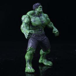 Avengers Rosso e verde Hulk Hand do model Giunti mobili, regalo decorativo Preferito di collezionisti