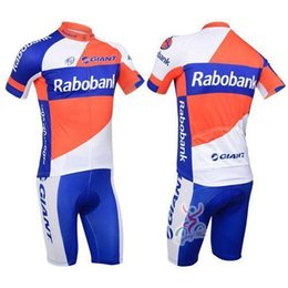 summer Cheap Team Rabobank Bicycle Wear Men Cycling Jerseys Team Cycling  Clothes Short Sleeve Jersey Shirts and Cycling Clothing Bib 7caa3d9bd