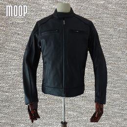 Veste cuir moto biker