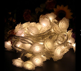 $enCountryForm.capitalKeyWord NZ - 10M 60 LED lights flash lamp set seven ball lamp lanterns waterproof outdoor Christmas lights flower rose