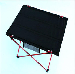Folding Art Table Canada - Outdoor folding table and chair, super light aluminium alloy folding table, portable table, outdoor picnic table and chair, quantity can be