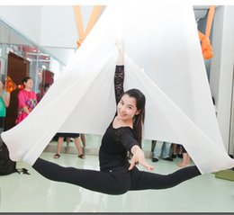 aerial hammock 2019 - New Yoga Hanging Hammock Swing Trapeze Anti-Gravity Inversion Aerial Pilates 1pcs discount aerial hammock