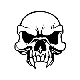 Discount Vinyl Skull Decals For Cars  Vinyl Skull Decals For - Skull decals for trucks