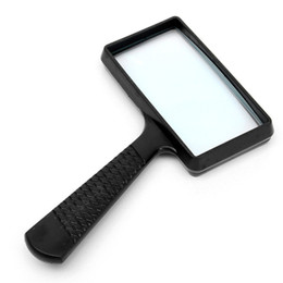 $enCountryForm.capitalKeyWord UK - Portable Handheld 2.5X high definition Rectangle Reading Magnifier Glass lens Loupe for old people reading MG84026 order<$18no track
