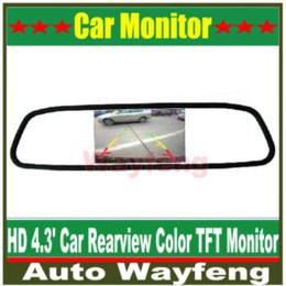 "$enCountryForm.capitalKeyWord Canada - Hot!!!High resolution 4.3"" Color TFT LCD Car Rearview Mirror Monitor 4.3 inch 16:9 screen DC 12V car Monitor for DVD Camera VCR M38774"
