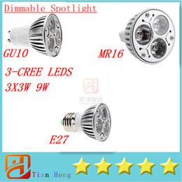 $enCountryForm.capitalKeyWord Canada - New GU10 MR16 E27 E26 E14 B22 GU5.3 3X3W 9W Led Lamp Spotlight 85V-265V LEDS Energy Saving 10pcs