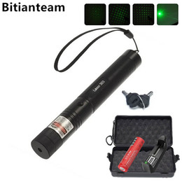 Divers flashlight rechargeable online shopping - Professional Powerful Green Laser Pointer Pen Laser Light With Battery Retail Box Adjustable Focus