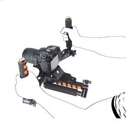 $enCountryForm.capitalKeyWord NZ - Freeshipping DSLR kits 5DII rigs video 5D2 camera slr dslr rig shoulder mount movie kit set cage handle stabilizer steadicam steadycam