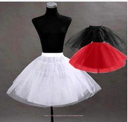 f70851fe1f509 Rouge Noir Blanc Joli Tutu Petticoat Underskirt Accessoires pour enfants En  Stock Filles Pageant Robe Crinoline