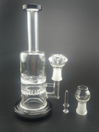 $enCountryForm.capitalKeyWord Canada - 2015 Newest wonderful turbine cyclone rig bong with bent neck with 210mm tall 14mm male Joint with cermaic nail hookah glass bong