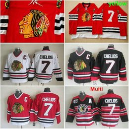 chicago blackhawks 7 chris chelios red throwback ccm jersey 9f87008e4