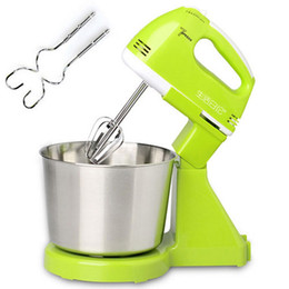 High Quality 7 Speed Electric Hand Stand Dough Mixer Rotary Balloon Whisk Stirrer Eggbeater cheap electric dough from electric dough suppliers