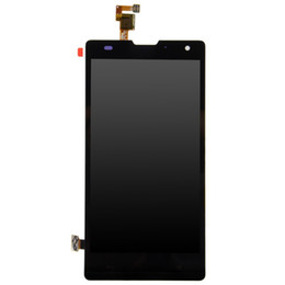 huawei honor 3c Canada - Wholesale-For Huawei G740 Honor 3C H30-U10 H30-T10 H30-T00 H30-L01 LCD Display Touch Panel Screen Assembly Replacement Parts Free shipping