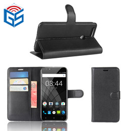 China Wallet Leather Australia - For Oukitel U22 U15 Pro U20 Plus PU Leather Flip Cover Case Card Pocket With Kickstand China Online Shop
