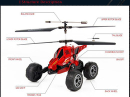 Wholesale Remote Control Aircraft, Helicopter Model, Air Land Vehicle with missile for Children Gifts, Collecting