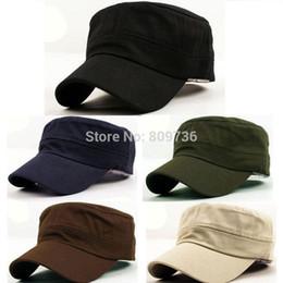 $enCountryForm.capitalKeyWord NZ - 1PC Classic Women Men Snapback Caps Vintage Army Hat Cadet Military Patrol Cap Adjustable Outdoors Baseball Unisex Hats Hot 2015