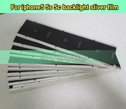 $enCountryForm.capitalKeyWord Canada - Back Sticker Silver Film For Iphone 5 5s 5c refurbishment LCD Screen Back Adhesive Glue Sticker For Broken iphone5 200pcs lot