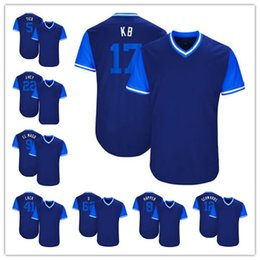 85493b40c ... discount code for custom chicago nickname jerseys 17 kb 12 kyle  schwarber 22 jason heyward 9