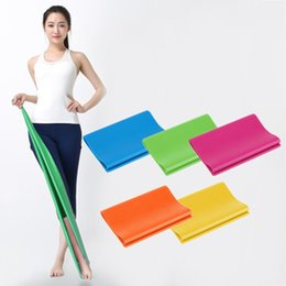 $enCountryForm.capitalKeyWord Canada - 1 .2m Fitness Equipment Elastic Exercise Resistance Bands Workout Pull Stretch Band Sports Gym Yoga Pilates Bodybuilding Tools