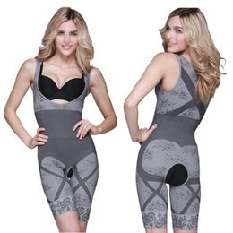 $enCountryForm.capitalKeyWord NZ - Hot Sales Ladies Womens Magic Bamboo Slimming Body Shaper Suit Firm Control Underwear Shapewear N09 Free Shipping