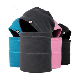 Skull head motorcycle online shopping - 4 Colors Cycling Masks Motorcycle Barakra Hat Cycling Caps Outdoor Sport Ski Mask Caps windproof Dust Head Sets CCA7989