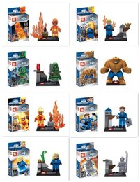 $enCountryForm.capitalKeyWord Canada - FANTASTIC FOUR 4 SY167 Thing Building Bricks Blocks SY167 Building Blocks 8pcs set Super Heroes Dr. Doom magical stones