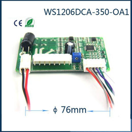 motor speed control pwm Canada - Micro brushless DC motor driver, the DC blower motor control board can PWM speed control,model:WS1206DCA-350-OA1