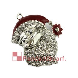 Hot Sale 20pcs! Wholesale Alloy Metal Santa Sleigh Charms Enamel Christmas Floating Locket Charms For Glass Locket Home & Garden