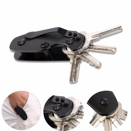 China EDC gear key keychain holder folder clamp pocket multi tool organizer collector smart clip kit bar gadget outdoor camp cheap smart car keychain suppliers