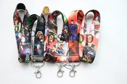 cell phone lanyard neck strap Canada - Factory Price Anime Super Heros Summer Style Lanyard,Keychain ID Holder Lanyard,Cell Phone Neck Strap Lanyards For sale