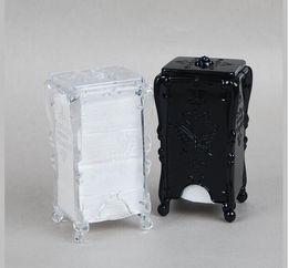 $enCountryForm.capitalKeyWord Australia - Practical Storage Box Makeup Cotton Pad Cosmetic Organizer Jewelry Case Storage Box Holder Butterfly