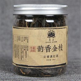 health black tea NZ - 30g Chinese Organic Black Tea Rhyme Fragrance Golden Branch Dianhong Red Tea Health Care New Cooked Tea Green Food Factory Direct Sales