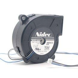 fan 6cm 12v UK - NIDEC blower D06F-12B1S1 6CM 60mm DC 12V 0.33A 3-pin projector cooling fan