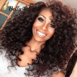 Discount black curly human hair wig - Peruvian Hair Wigs Remy Human Hair Full Lace Wigs Natural Color Gluless Lace Curly Wigs for Black Women 150%Density Free
