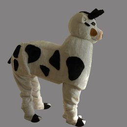 White Cow Costume Canada - Hot New Lovely New Cows mascot Costume For Festival Hallooween & White Cow Costume Canada | Best Selling White Cow Costume from Top ...