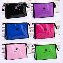 $enCountryForm.capitalKeyWord Australia - Wholesale Waterproof lady fashion hand bag 6 color cosmetic makeup bags briefcase Diaper Bags multifunction bag