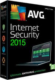 AVG Internet Security 2015 código de tres usuarios válido hasta el 2018 de febrero