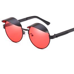 1bc54fa4fb7 Classic Steam Punk Sunglasses Round Women Men Retro Fashion Sun Glasses  High Quality Eyewear UV400 Y234