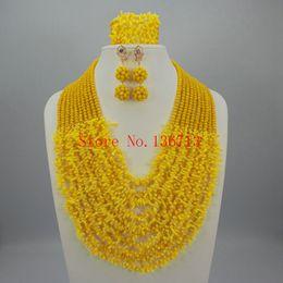 $enCountryForm.capitalKeyWord Canada - Free Shipping !!!Fashion Nigerian Wedding African Beads Jewelry set Coral Necklace Bracelet Earrings Jewelry Set HD101-5